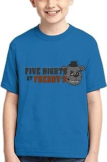 Five-Nights-at-Freddy'sShirt Boys Girl Fashion 3D Print Short Sleeve Cotton T-Shirt