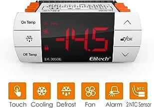 vige Termostato Universale Multifunzione Nero per termostato Digitale STC-1000 con Strumento diagnostico per Strumento Temperatura sensore