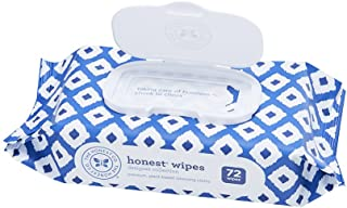 The Honest Company Designer Baby Wipes - Pure & Gentle   Over 99% Water   Plant-Based & Biodegradable   Alcohol, Fragrance...