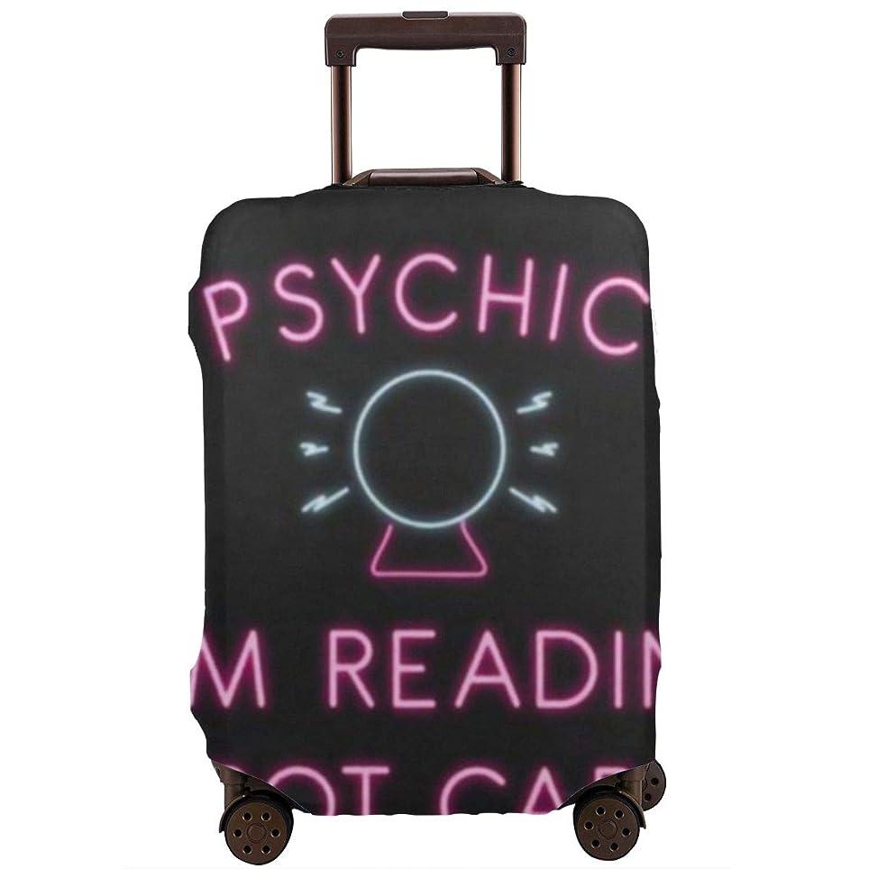 十分ではない認証例サイキックパームリーディングタロットカード スーツケースカバー バッグ保護カバー 荷物カバー 伸縮素材 出張旅行便利 丈夫 盗難防止 防塵カバー(4サイズ)