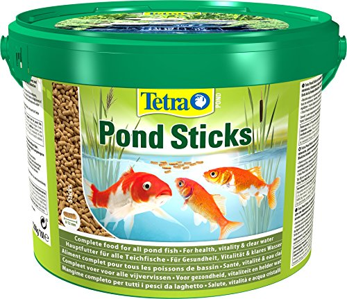 Lascure Delights Pond Sticks Mangime per Pesci, Multicolore, Unica, 10000 unità
