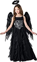 InCharacter Costumes Dark Angel Costume, One Color, Size 10