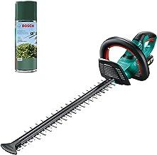 Bosch Cordless Hedge Trimmer AHS 50-20 LI (1 Battery, 18 V System, Stroke Length: 20 mm, in Carton Packaging) + Bosch Lubr...