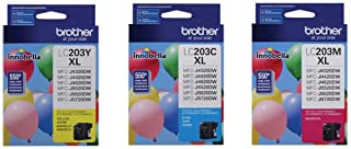 Brother LC-203 High Yield Ink Cartridge Set Colors Only (CMY)