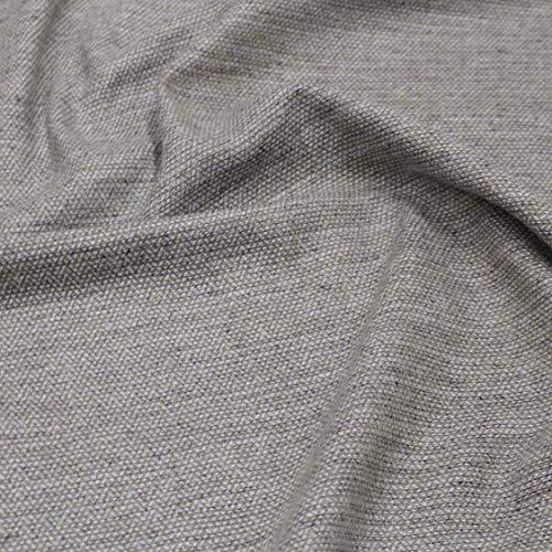 kawenSTOFFE Tweedstoff Wollstoff Blau Grau meliert Kostümstoff Mittelalter Anzugstoff Meterware