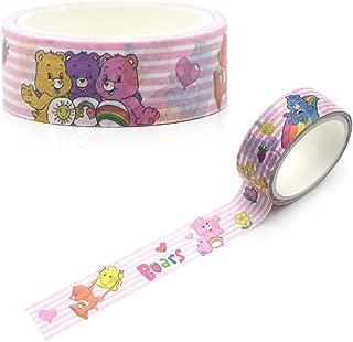 15mmX5m Paper Washi Tape Care Bears Kawaii Adhesive Tape DIY Scrapbooking Sticker Label Masking