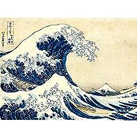 5Dダイヤモンド刺繍風景フルドリルダイヤモンド塗装クロスステッチ海の波モザイク家の装飾,80x105cm