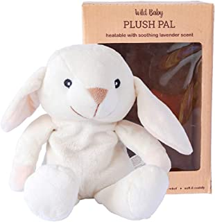 WILD BABY Microwavable Plush Pal - Cozy Heatable Weighted Stuffed Animal with Aromatherapy Lavender Scent, 10