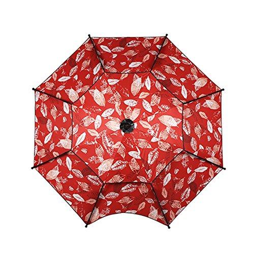 ZHUSAN visparaplu, universele zonnebrandcrème buiten zonnescherm grote oversized dubbele parasol voor tuin binnenplaats balkon strand