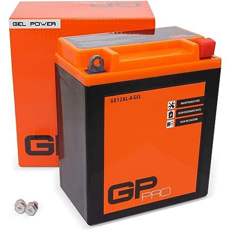 Batterie Yuasa Yb12al A2 Dc Offen Ohne Säure 12v 12ah Cca 150a 134x80x160mm Für Yamaha Xv535s Virago Baujahr 1997 Auto