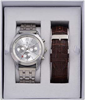 Minster 1949 MN-SET10 Mens Watch and Strap Gift Set