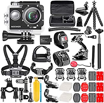 Neewer G1 50-in-1 Ultra HD 4K Action Camera Kit