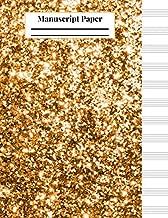 glitter and gold piano sheet music