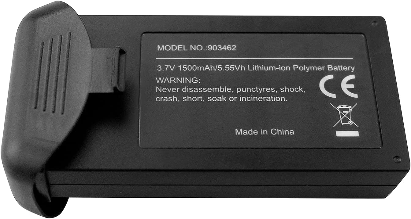 1PCS 3.7V 1500mAh Finally resale start Lithium Battery HS110D for HS110G Aerial Popular brand Photo