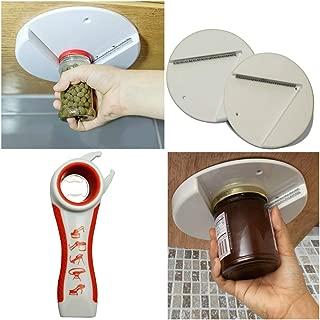 Jar Opener Bottle Top Opener Set 3 Pack Bundle Ideal for Seniors & People Suffering From Arthritis Multipurpose Kitchen Tool