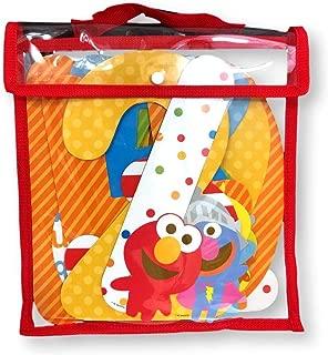 Sesame Street Milestone Month Boys Girls Unisex Elmo Cookie Monster Big Bird Bert Ernie Characters Jumbo Newborn to 12 Months First Year Number Set Pictures Facebook Baby Album Scrapbook Memory Books