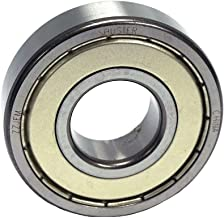 Shuster 608 ZZ JEM Deep Groove Ball Bearing, Single Row, Double Shielded, C3 Clearance, 22 mm Height, 7.0 mm Width, 22 mm Length, 8.0 mm ID, 22 mm OD, High Carbon Chrome Bearing Steel