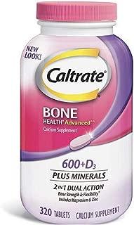 Caltrate 600+D3 (320 Count) Calcium and Vitamin D Supplement Tablet (320 Count) IIIiii