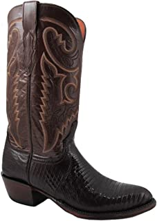 Men's Cowboy Boots 1883 Collection T6181 IC Brown Lizard/Brown Buffalo