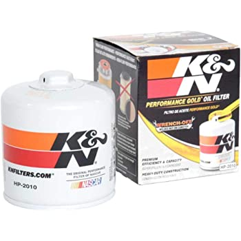 K&N Premium Oil Filter: Designed to Protect your Engine: Fits Select CHEVROLET/DODGE/FORD/LINCOLN Vehicle Models (See Product Description for Full List of Compatible Vehicles), HP-2010
