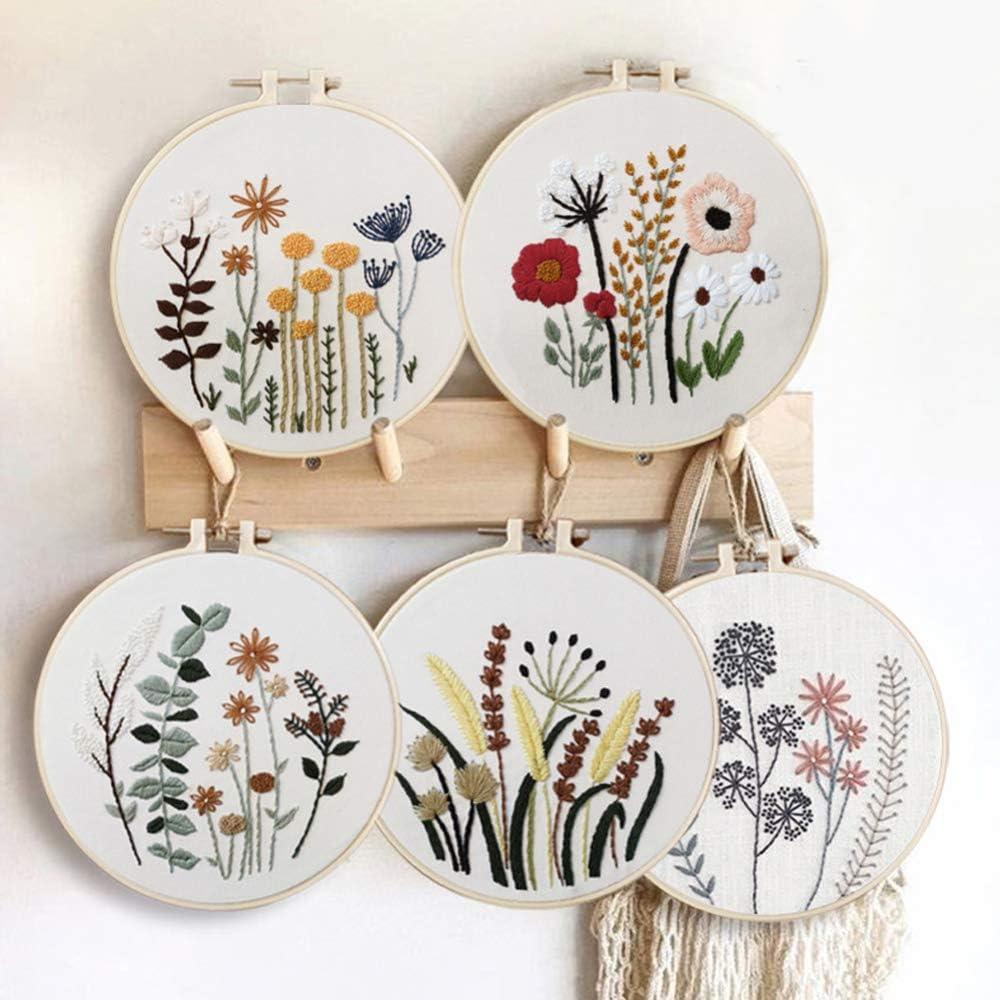 Baoer Hand Embroidery Kit 1 year warranty K Starter with Instructions