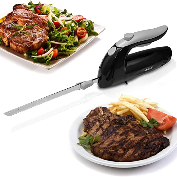 Upgraded Premium NutriChef Electric Knife - 8.9