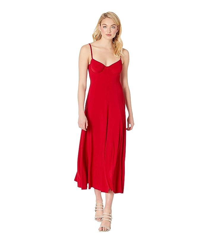 KAMALIKULTURE by Norma Kamali Underwire Gown (Red) Women