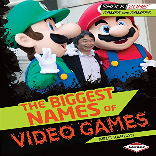 The Biggest Names of Video Games copertina