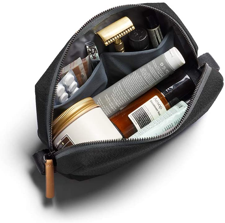 Rapid Selling and selling rise Bellroy Dopp Kit Unisex Toiletry Zipper Bag Closure Water-res