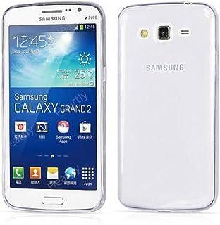 Defender Ultra Thin 0.3mm Clear Transparent Flexible Soft TPU Slim Back Case For Samsung Galaxy Grand 2 G7106