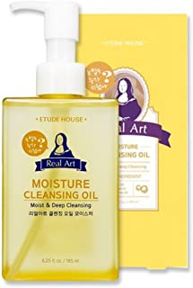 Etude House Real Art Cleansing Oil Moisture Advanced 185 milliliters