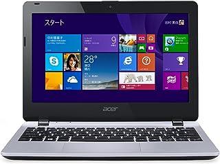 Acer Aspire E11 (Celeron N2830/4G/320G/11.6/Win8.1withBing(64bit)/APなし/クールシルバー)E3-111-A14C/S