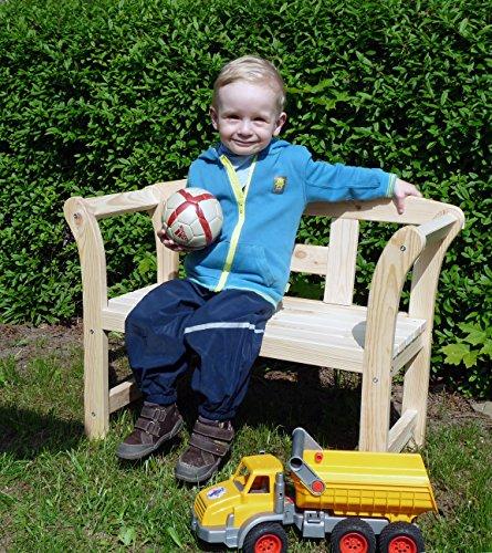 Unbekannt Holz Deko - u. Kinderfriesenbank klein