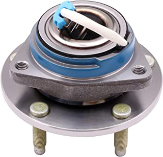 cciyu 512153 Wheel Hub and Bearing Assembly Replacement for fit Cadillac XLR Chevrolet Corvette 2004-2008 has ABS Wheel Hubs 5 lugs (1)