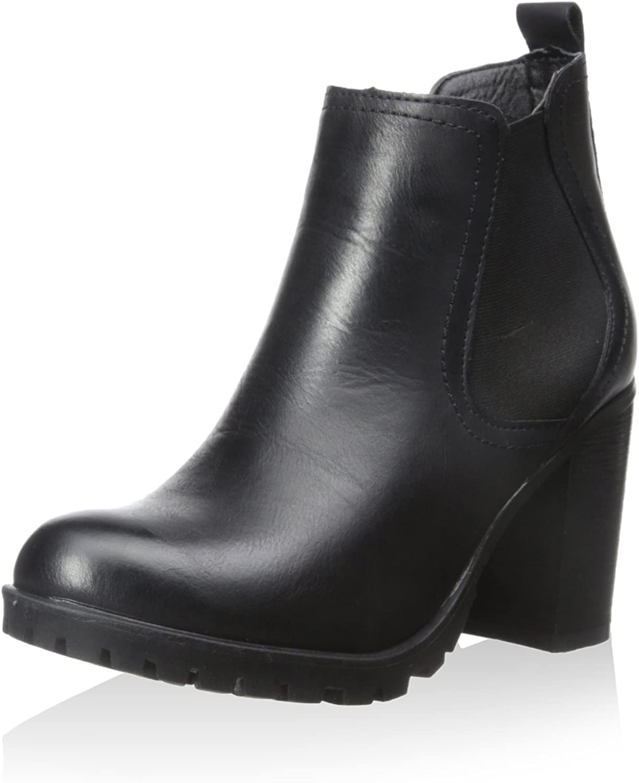 Modern Rush Women's Heel Bootie Black