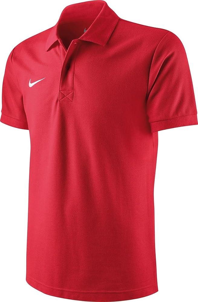 Nike ts core polo magliettada uomo a maniche corte 100% cotone 454800-106