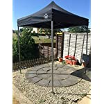 All Seasons Gazebos, 2x2 m Heavy Duty, Fully Waterproof Pop up Gazebo 4