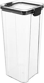 YARNOW Contenants De Rangement en Plastique Transparent Boîtes avec Couvercles De Stockage De Conservation Alimentaire Bon...