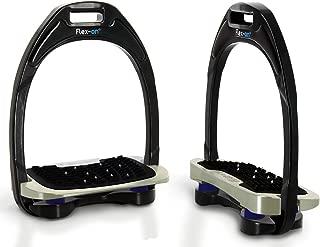 Flex On Aluminium Shock Absorber Stirrups with Ultra Grip