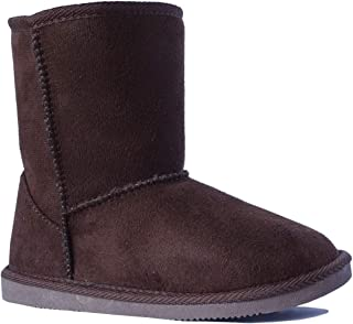 New Kids Classic Snow Boots Faux Fur Midcalf Outdoor Boots (Big Kid)