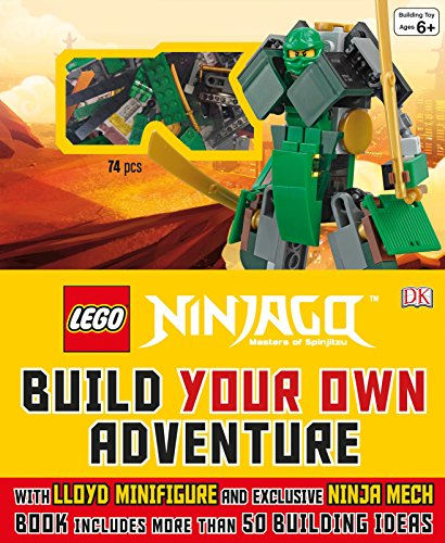 Lego Ninjago Build Your Own Adventure: With Lloyd Minifigure and Exclusive Ninja Merch, Book Includes More Than 50 Buil