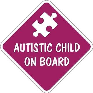 Autistic Child On Board Car Sticker