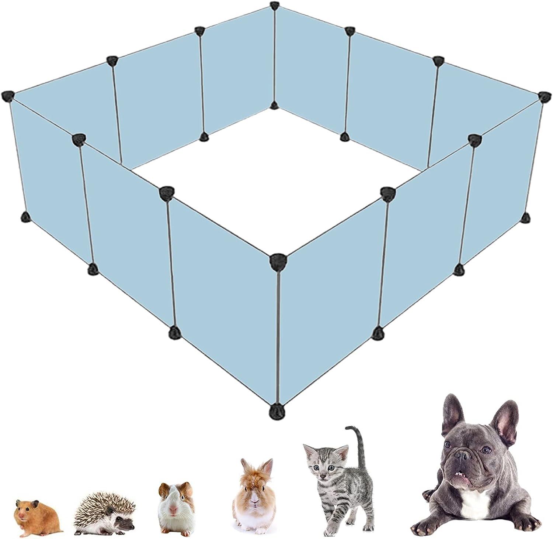 Mechpia Pet Plastic Playpen Small Animal Max 89% OFF Cage trust DIY Po Fence Yard