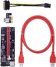 Extender Riser Adapter Driven Riser adapter PCI-e 1x till 16x förlängningskabel USB VER009S för grafikkort Mining Praktisk...