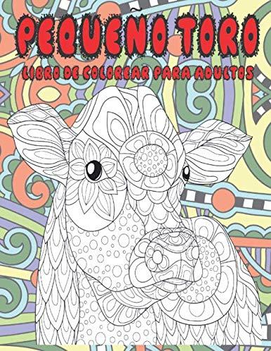Pequeño toro - Libro de colorear para adultos