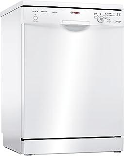 Bosch Serie 2 SMS25AW01J lavavajilla Independiente 12 cubiertos A++ - Lavavajillas (Independiente, Tamaño completo (60 cm), Blanco, Blanco, Botones, Giratorio, 1,75 m)