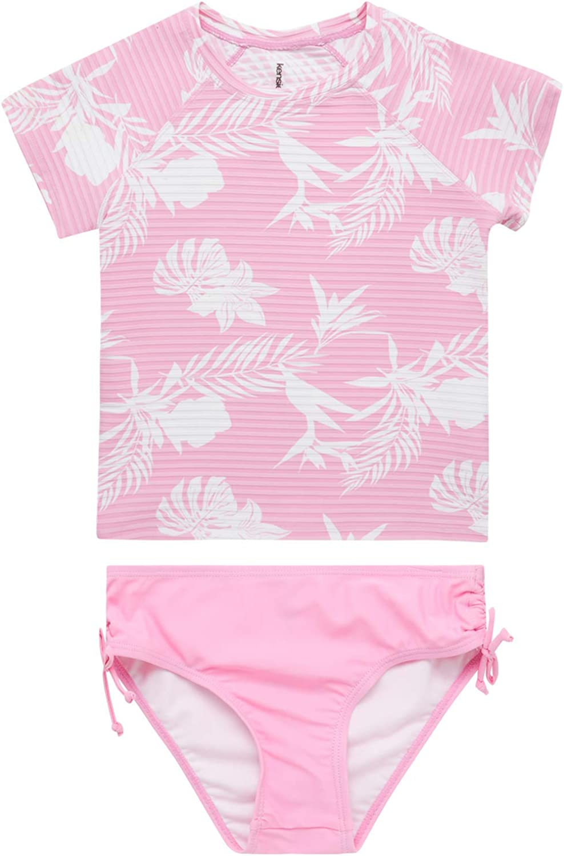 Kensie Girl' Rash Guard Set - Swimsuit 50+ Quick El Paso Mall Dry UPF Import 2-Piece