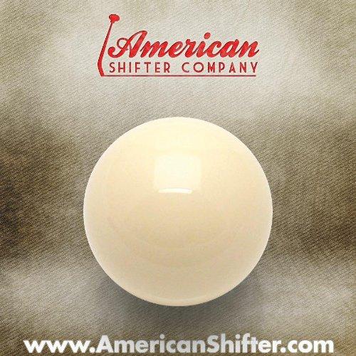 Americana Shifter 96060 marfil bola de billar Custom pomo de la palanca: Amazon.es: Coche y moto