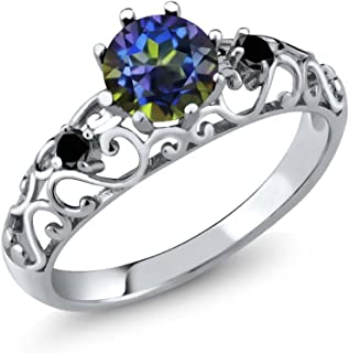 Best black and blue diamond ring Reviews