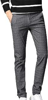 ゴルフ パンツ メンズ ストレッチ チノパン チェック ズボン スリム スキニーパンツ カジュアル 細身 美脚 ストリート ジーンズ ロングパンツ ビジネスパンツ